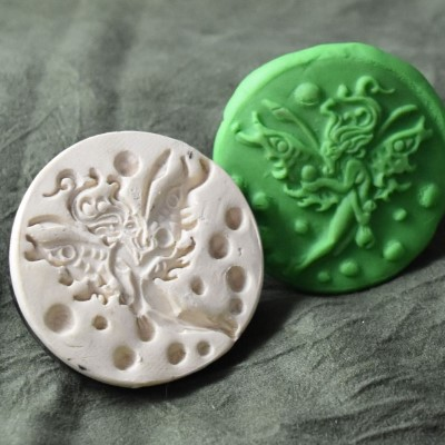 064: Faerie Cookie Stamp