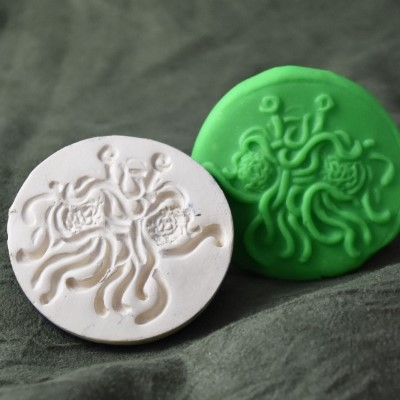 110: Flying Spaghetti Monster Cookie Stamp