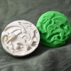 040: Celtic Dragon Cookie Stamp