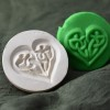 126: Celtic Heart Cookie Stamp