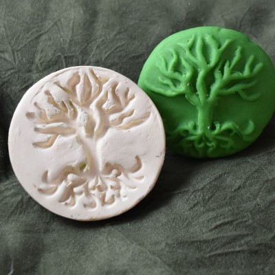 119: Bare Tree Cookie Stamp