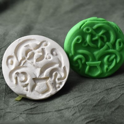 008: Celtic Tree of Life Cookie Stamp Cookie Stamp